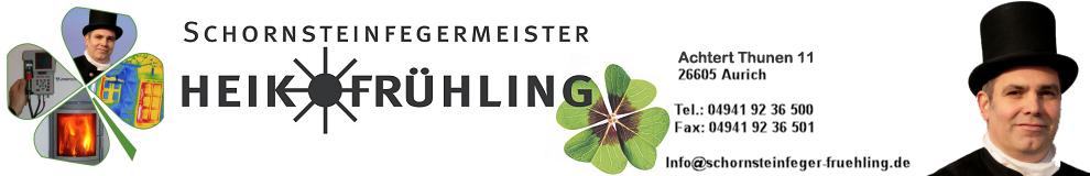 Schornsteinfeger Frühling